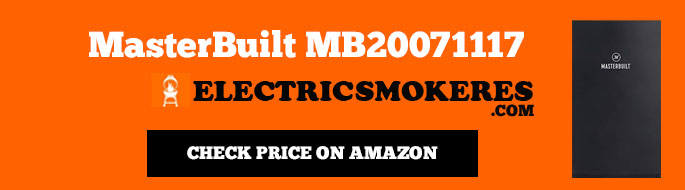 Master Built MB20071117 Digital Best Electric Smoker for Beginners
