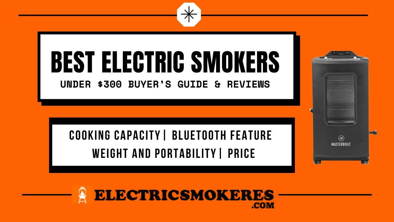 Best Electric Smokers under $300 Buyer's Guide & Reviews