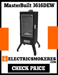 Master Built 3616DEW Electric SMOKER