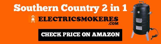 Southern Country 2 in 1 Electric smoker & Grill